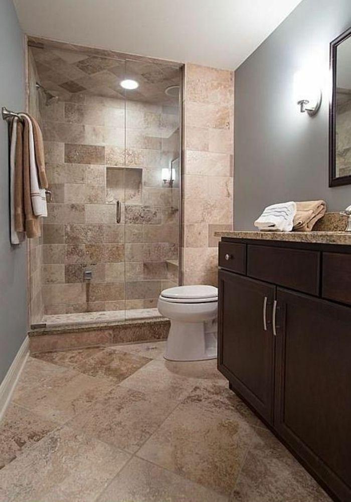 ▷ 1001 + idées déco pour la salle de bain travertin | Salle ...