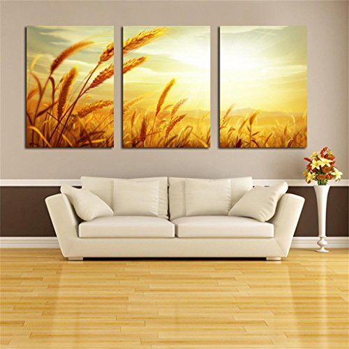 pastoral pintura de paisaje moderno saln decoracin de pared pintura restaurante colgante pintura comedor triple pintura