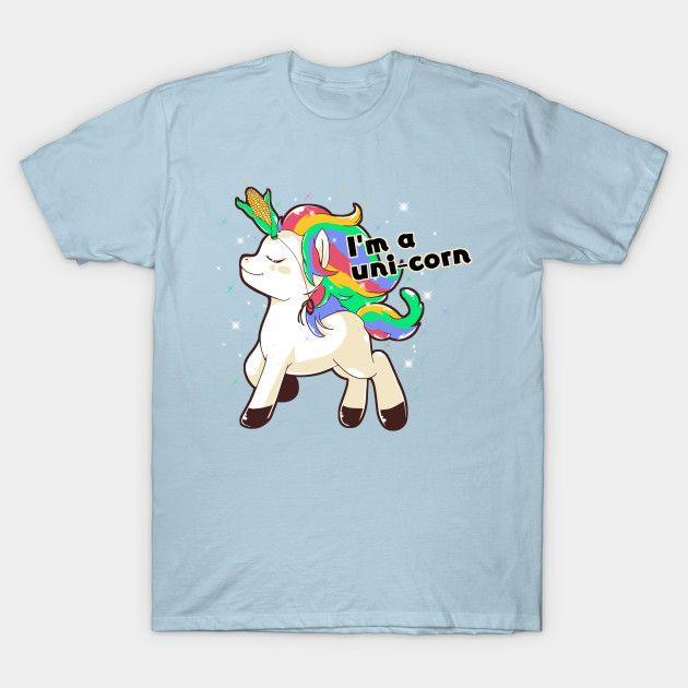 I'm a uni-corn #unicorn #pet #pets #horse #horses #tee #tees #funny #corn #humor #humors #corns #animal #animals #tshirt #tshirts #shirt #shirts #forher #forhim #unisex #draw #illustration #tshirtsfunny #funnytee #teepublic #wardrobe #onsale #sale
