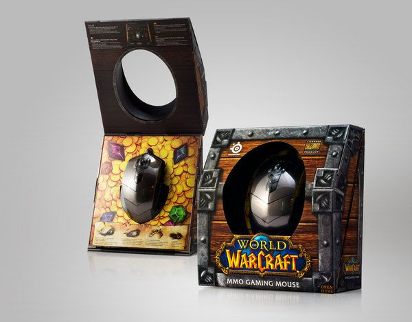 World of Warcraft® MMO Gaming Mouse Package by CRE8 Design , via Behance