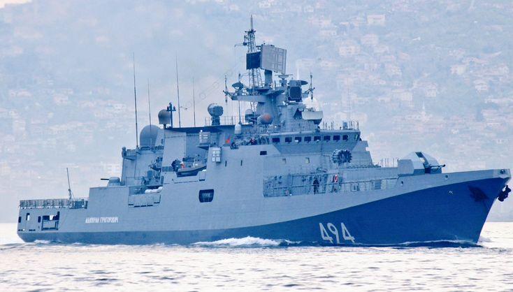 ВАЖНО: российские военные корабли возвращаются кберегам Сирии (ФОТО)