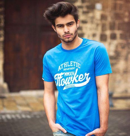 camiseta chico flowker original azul 1