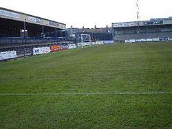 Nuneaton Town F.C. ground.