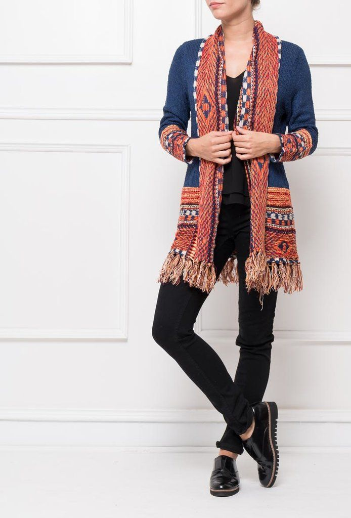 Cárdigan Indi - Ana Conde Moda