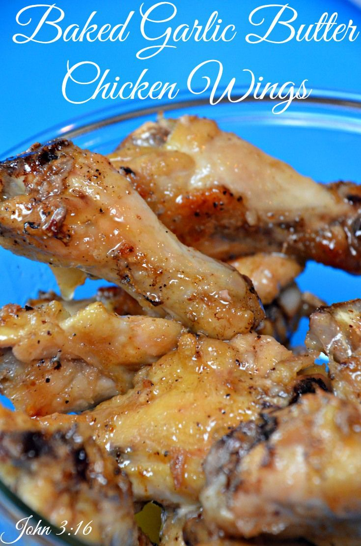 Baked Honey Garlic Chicken Wings | Recipes For Our Daily Bread