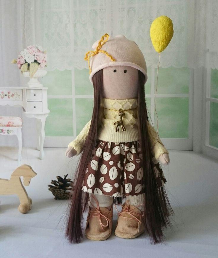 Трикотажная кукла. Рост 26 см