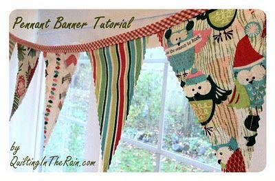 Pennant Banner Tutorial