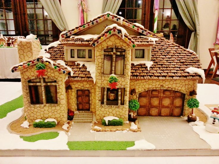 Best Gingerbread House Ideas Images On Pinterest Christmas - Gingerbread house garage