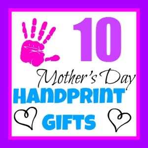 Handprint and Footprint Arts & Crafts: Mother's Day Handprint & Footprint Crafts Round Up {#3}