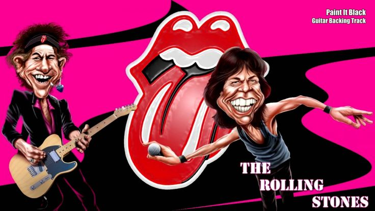 The Rolling Stones - Paint It Black (Guitar Backing Track)