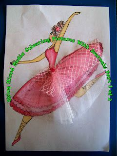 A Pretty Talent Blog: Scrapbooking: Capturing Your Ballerina In Colour Part 1