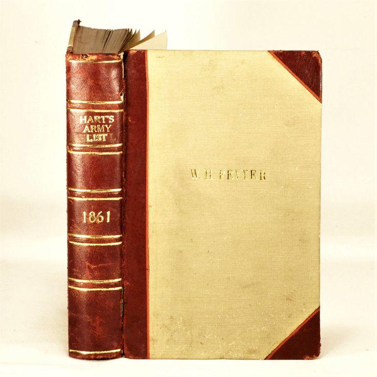 Harts Army - New Annual Army and Militia List - 1861 Original Copy British Army - SOLD