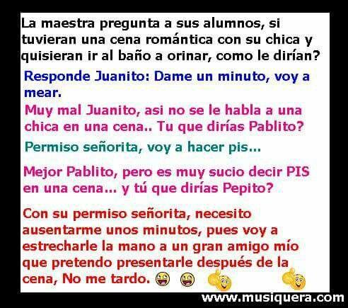 Pepito | chistosos | Pepito jokes, Memes y Funny Quotes