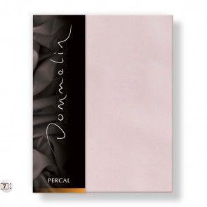 Dommelin Topper Hoeslaken Deluxe Percal Lichtroze.  #kleur #beddengoed #slaapkamer