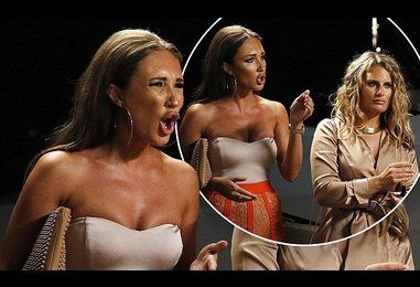 Megan McKenna has TOWIE showdown with Chloe Lewis and Lydia Bright