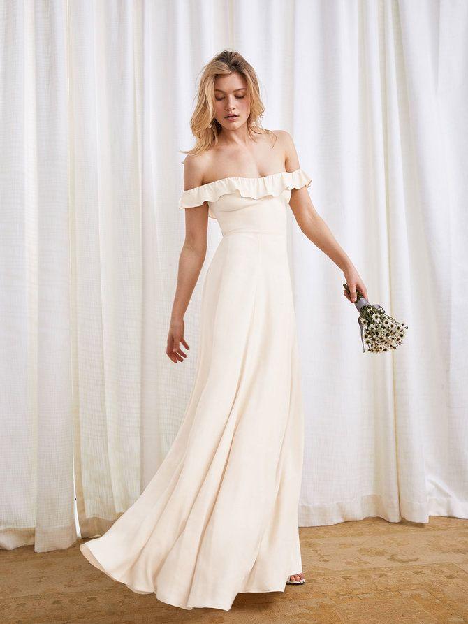 b133863ff3 Reformation wedding dress  3