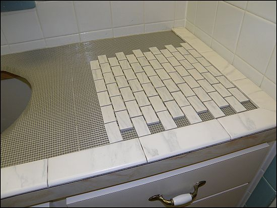 Find This Pin And More On Home Ideas Tiling Over Laminate Countertops Bondera Tile