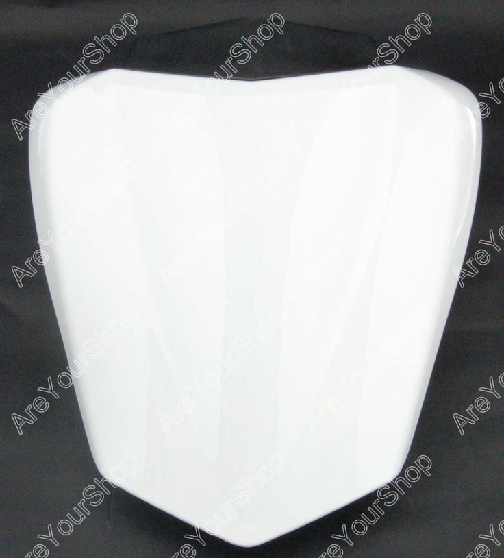 Sale White Universal Motorcycle Rear Seat Cover Cowl Solo Motor Seat Cowl Rear Pillion Fairing Set For Yamaha R1 2009-2010