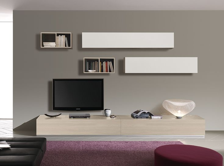 spar modern italian wall unit composition lift