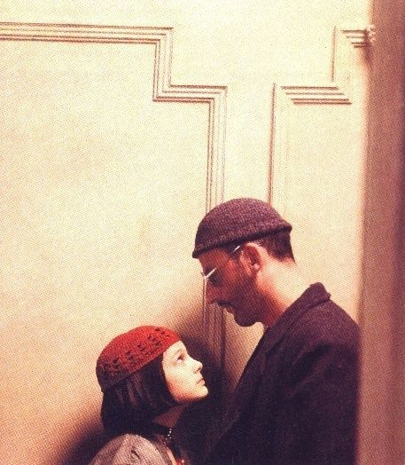 Natalie Portman and Jean Reno as Mathilda and Leon - Leon the Professional, 1994