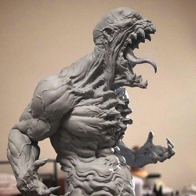 Love this sculpt by @dominicqwek