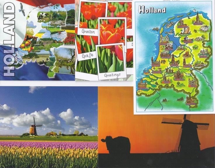 Postcard Set - Typical Dutch (postcrossing set)