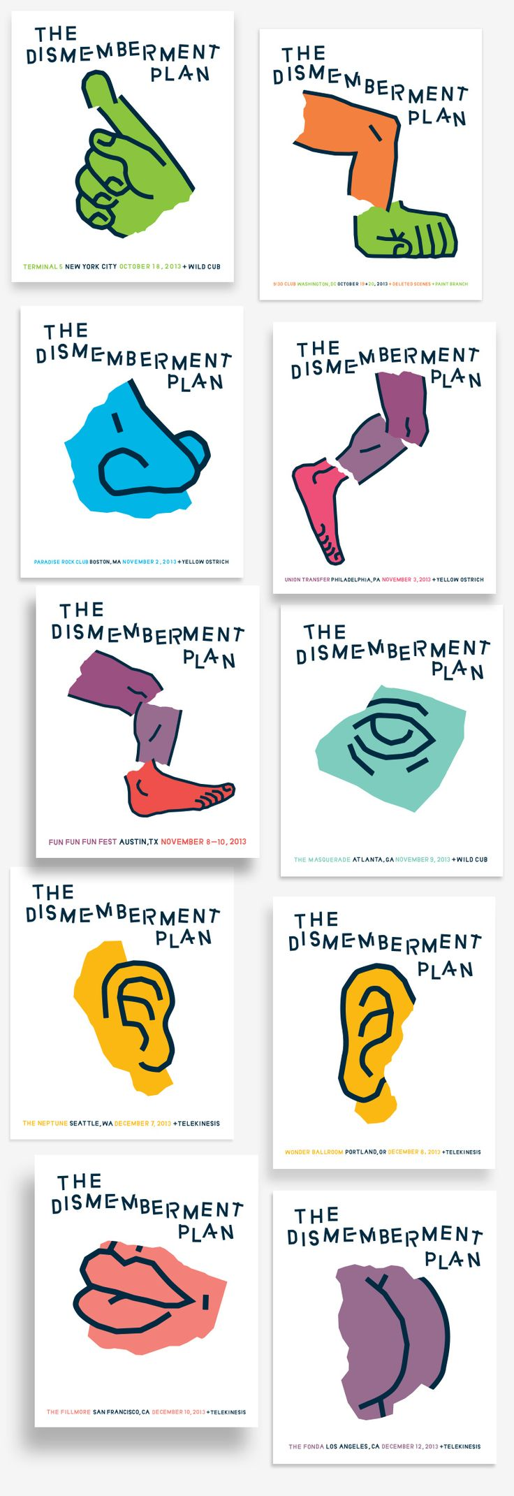 THE DISMEMBERMENT PLAN - Trademark™