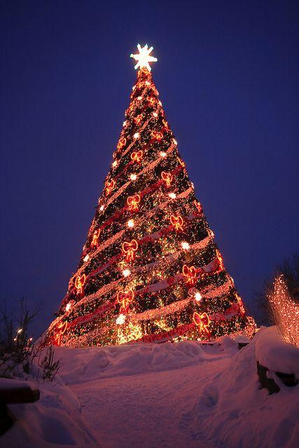 "Christmas in ""Lido"" restaurant, Riga, Latvia"