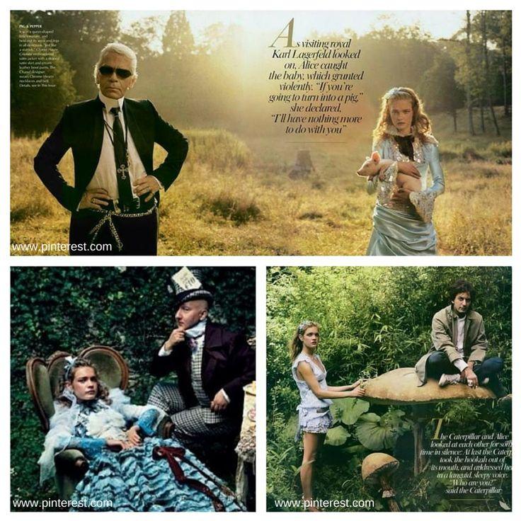 Annie Leibovitz, photoshooting for Vogue 2002