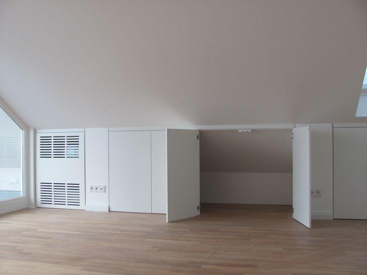 die 25 besten ideen zu dachschr ge nutzen auf pinterest schrank selbst bauen dachschr ge. Black Bedroom Furniture Sets. Home Design Ideas