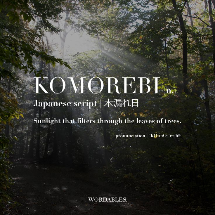 5 Japanese Words for Those Feelings You've Never Been Able ...