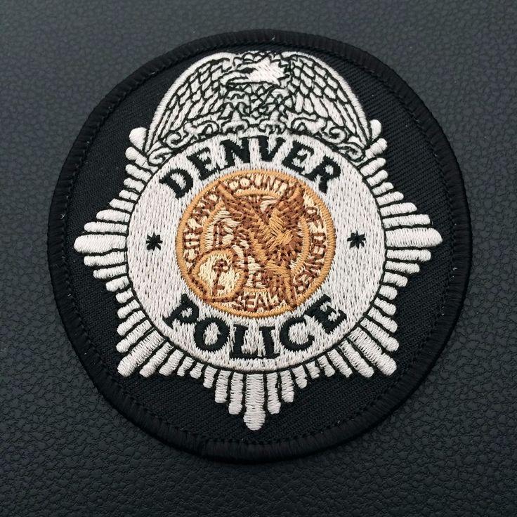 Shoulder Patch Denver Police Department New Original Colorado USA Rarity  | eBay