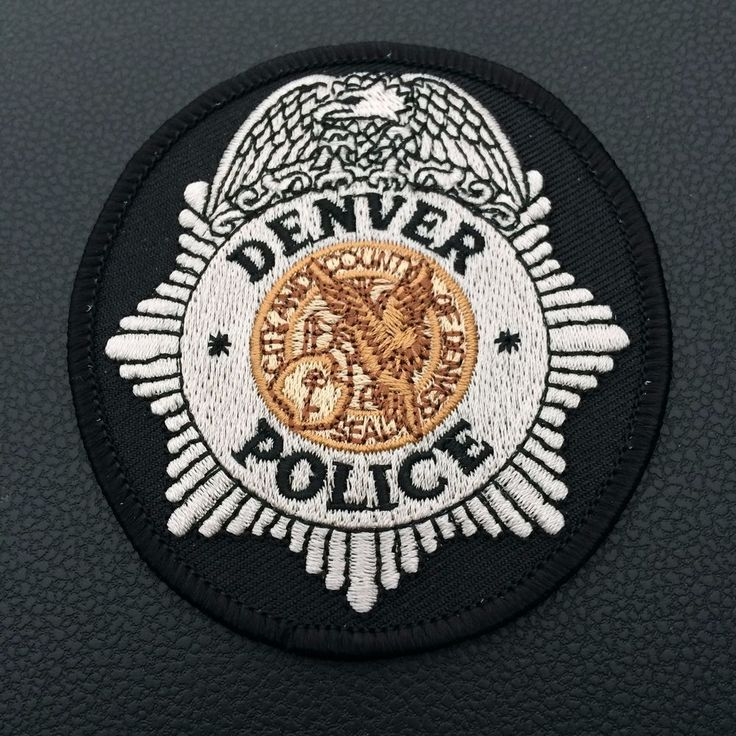 Shoulder Patch Denver Police Department New Original Colorado USA Rarity  | eBay