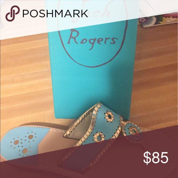 Jack Rogers sandals Size 10 jack Rogers sandals NEVER worn! Jack Rogers Shoes Sandals