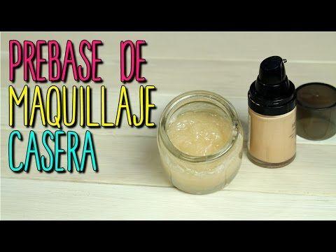 ¿Cómo hacer? Prebase de Maquillaje Casera - Receta Natural - Todo tipo de pieles - Catwalk - YouTube