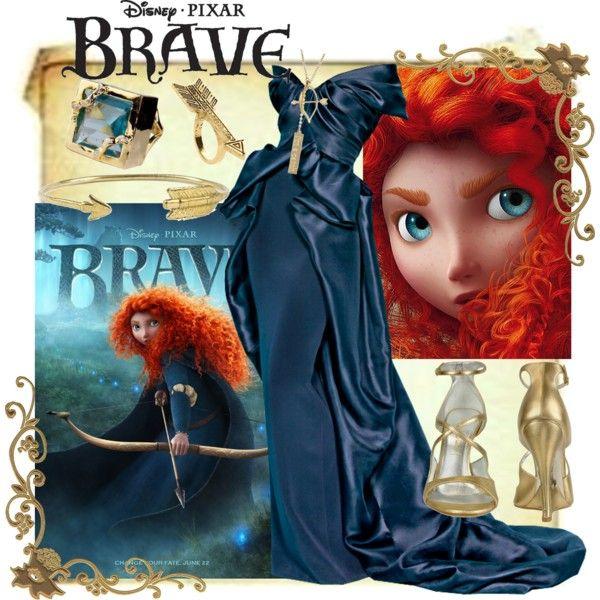 Princess Merida from Brave, created by ghsdrummajor