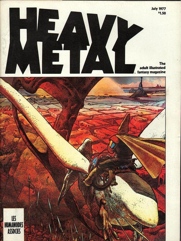 Heavy Metal July 1977 - EphemeraForever.com