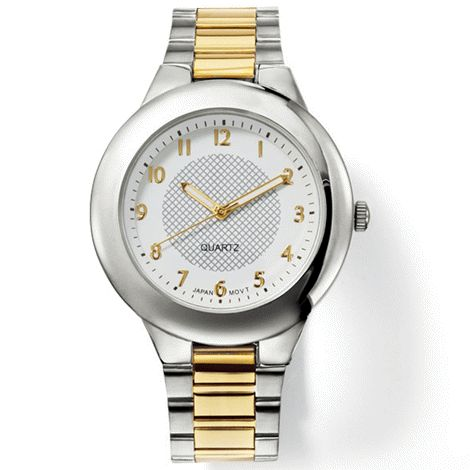 You will love this product from Avon: Men's Two-Tone Link Watch $39.99