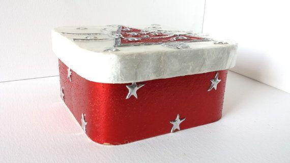 Large christmas gift box,holidays gift box,large wrapping,gift ideas, big gift box,round gift box, large square box, fancy gift box holidays...