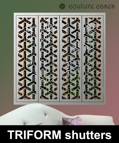 32 best Decorative window shutters with laser cut fretwork