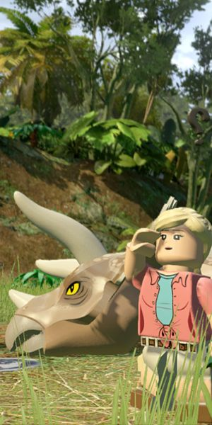 Love The Lego Movie? Love Jurassic Park? Then you have to watch the both trailers for the Lego Jurassic World video game.