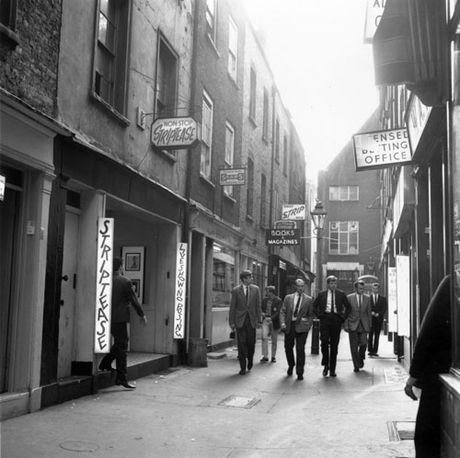 1960s, strip clubs London Soho