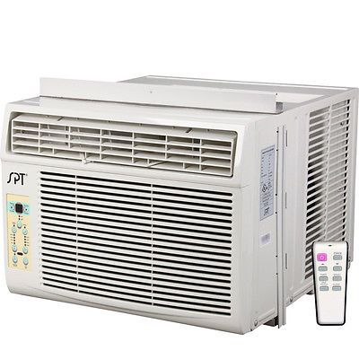 8000 BTU Window Air Conditioner - Room AC Portable Cooler + Dehumidifier & Fan