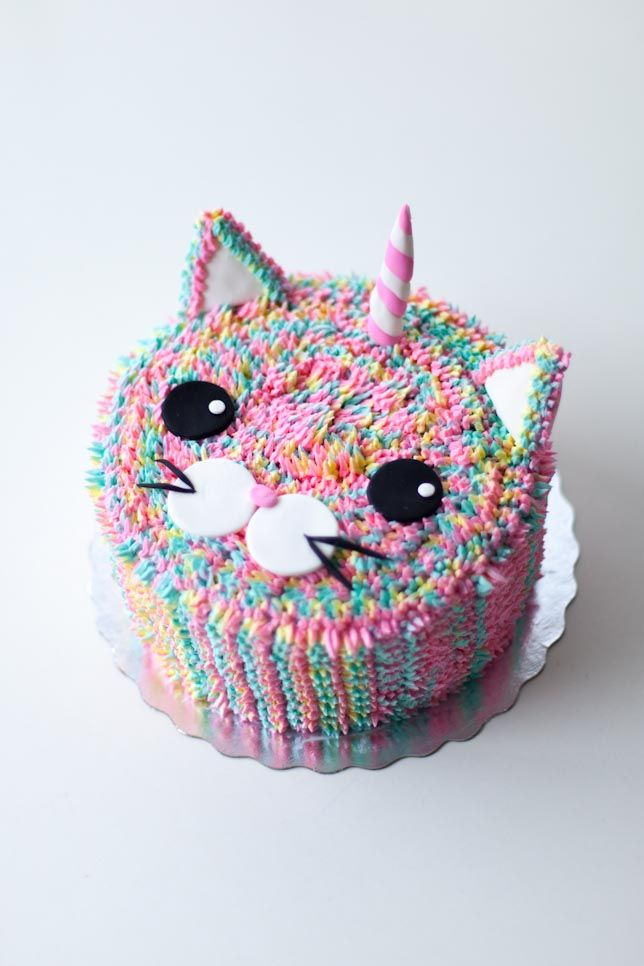 Caticorn Cake by Coco Cake Land