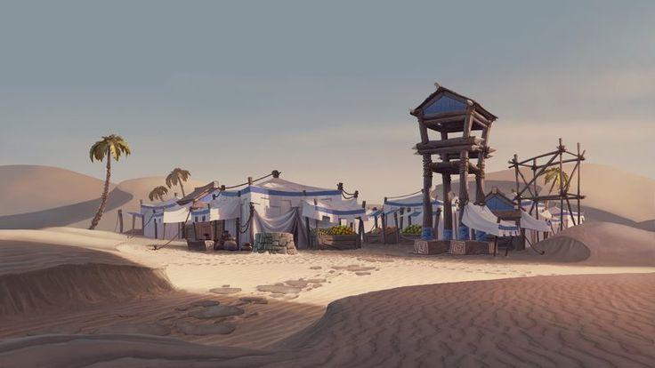 ArtStation - Age of Empires Online Cinematic 01, Szymon Biernacki
