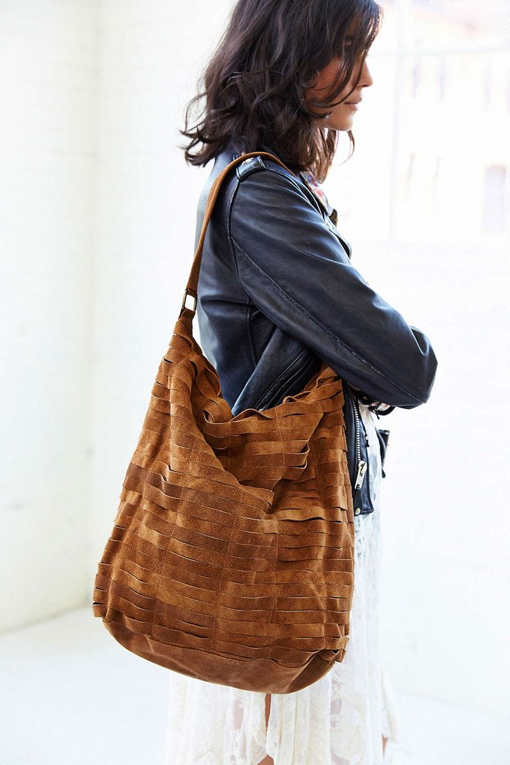 prada fake purses - Ecote Suede Slash Hobo Bag | stoffen | Pinterest | Hobo Bags, Bags ...