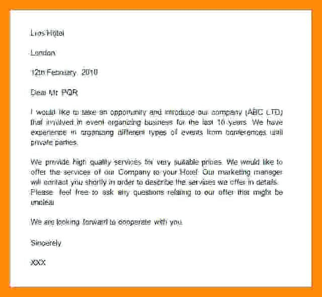 Self Introduction Letter To Clients Sample from i.pinimg.com