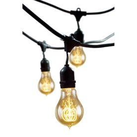 Cascadia Lighting 48-Ft 15-Light Plug-In Bulbs String Lights String15/