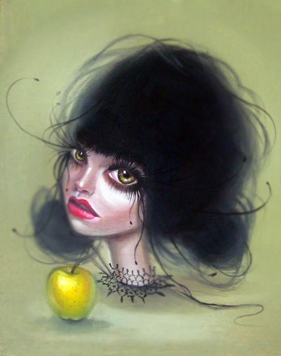 Pop Surrealism Art | kurtis-rykovich-surreal-surrealist-art-beauty-girl | The Suite World