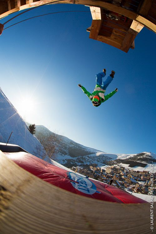 Big Air Bag Jump - Alpe d'Huez